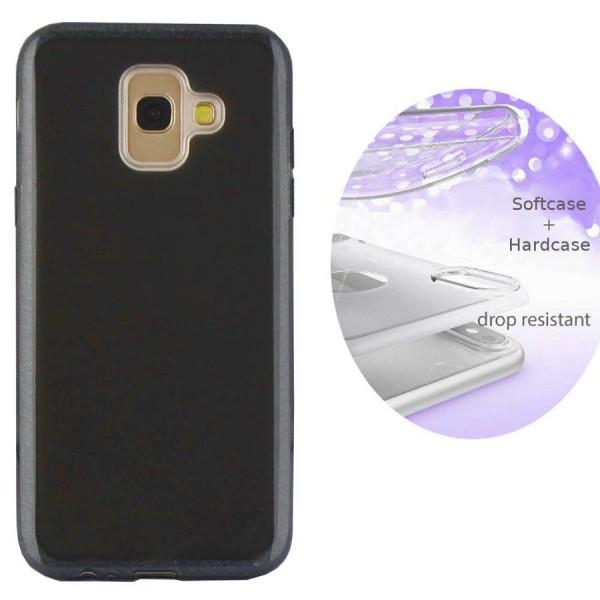 Handyhülle Schwarz Glitzer Samsung Galaxy S9 / S9 Plus