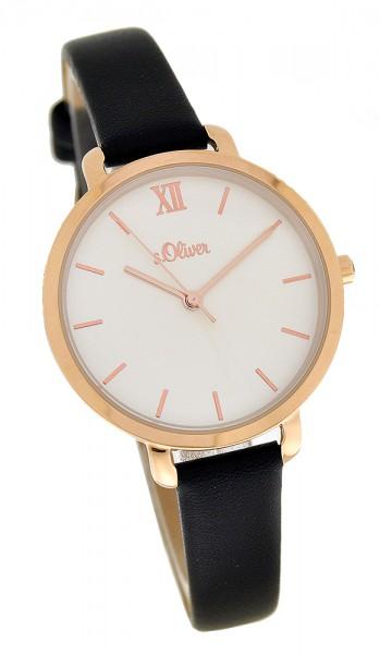 s. Oliver SO-3874-LQ - Damen Armbanduhr