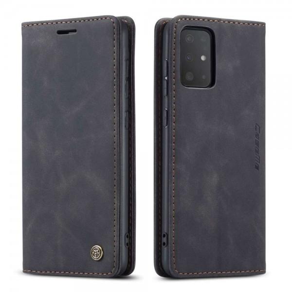 Handytasche Slim Samsung S20 Ultra Schwarz Retro