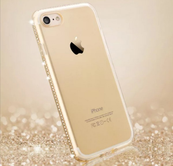 iphone bling gold