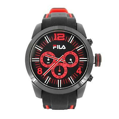 FILA 38-839-002 - Herrrenuhr Chronograph Schwarz/Rot