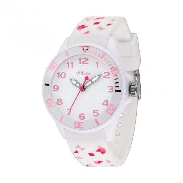 s. Oliver SO-3921-PQ - Kinder Armbanduhr für Mädchen
