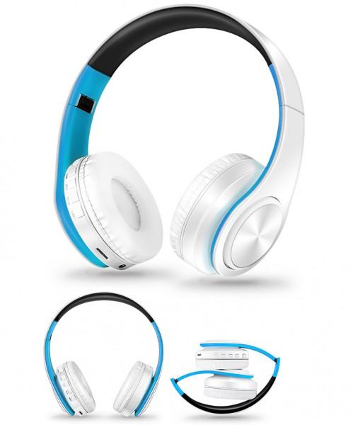 Wireless Bluetooth Headset Kopfhörer mit SD-Kartenslot
