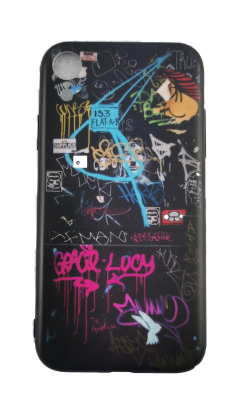 Handyhülle Graffiti Samsung Smartphone