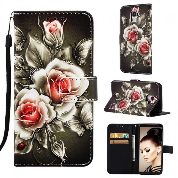 Handytasche Samsung Galaxy S20 Rosen Motiv