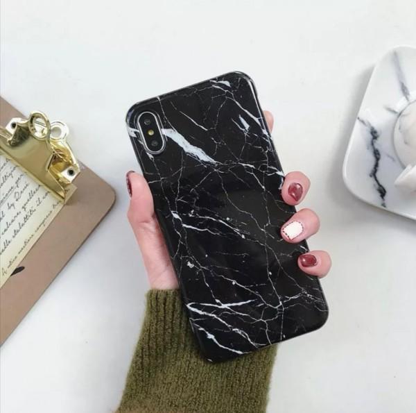 Silikon Handyhülle Steinmuster Samsung