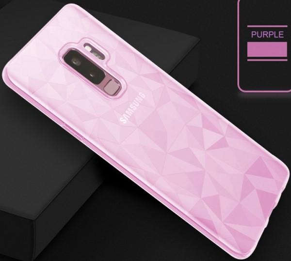 Handyhülle mit 3D Diamantmuster Samsung S10 Modellreihe