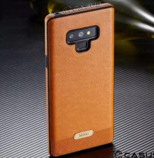 Handyhülle im Lederlook Braun Samsung