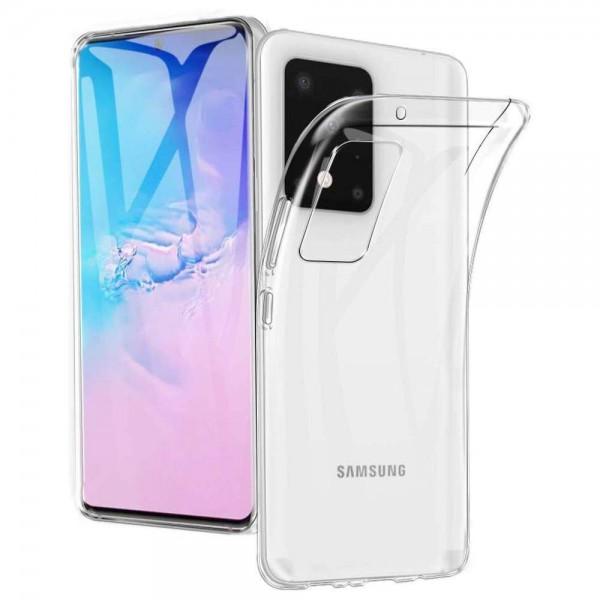 Handyhülle Transparent für Samsung Galaxy S20 Ultra