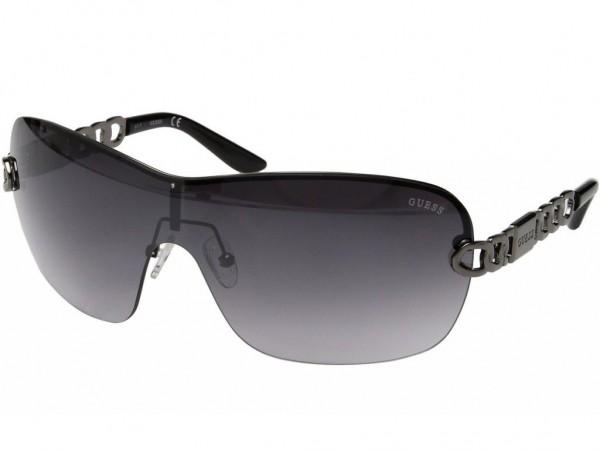 GUESS GF604308B - Damen Sonnenbrille Schwarz