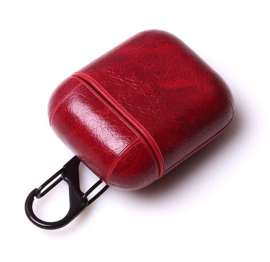 Airpod Case Leder Rot