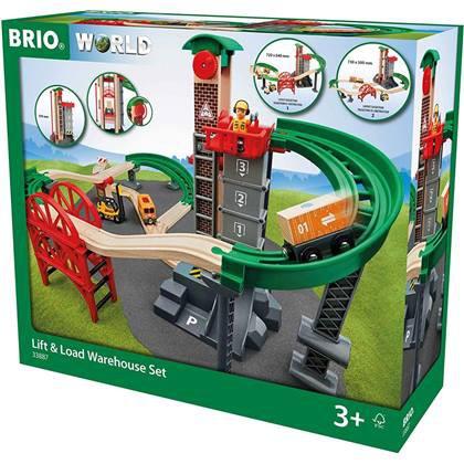 BRIO Eisenbahn Grosses Lagerhaus