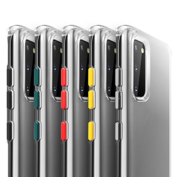Handyhülle mit Eckenschutz für Samsung S20 modellreihe Transparent