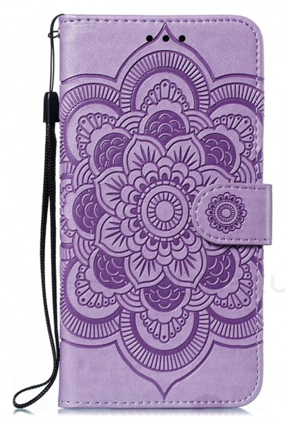 Flip Case iPhone Violett