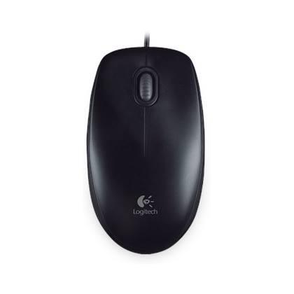 Logitech B100 Kabelgebundene Maus