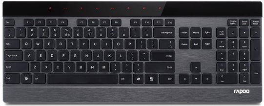 Rapoo E9270P Metall Slim Tastatur Schwarz