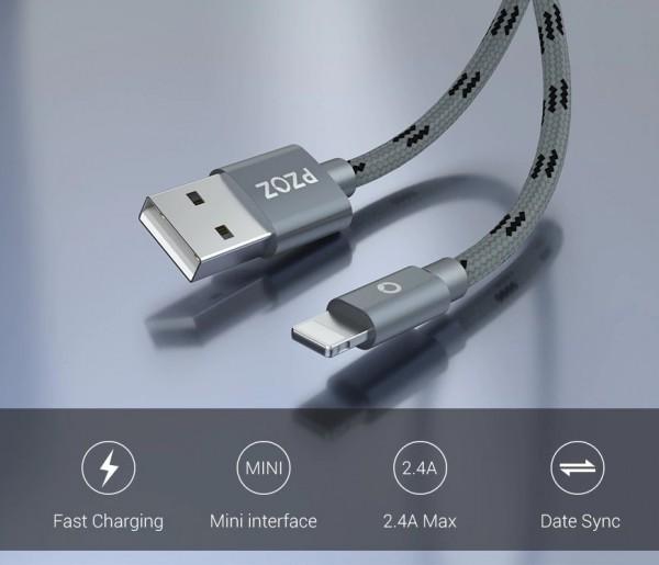 Farbige Ladekabel iOS Iphone