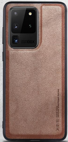 Handyhülle im Lederlook für Samsung S21 Reihe