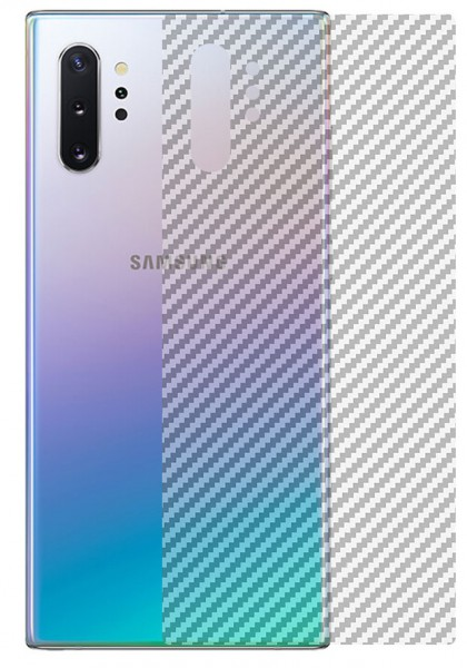 Carbon-Muster Schutzfolie Rückseite Samsung Galaxy S20 Ultra