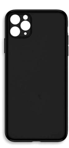 Handyhülle Schwarz Silikon Case iPhone Modelle