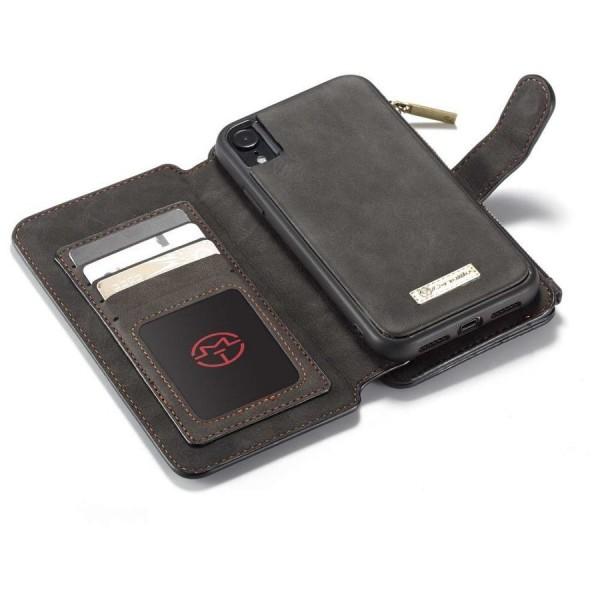 Handytasche 3in1 iphone 12 Pro Handyhülle Schwarz