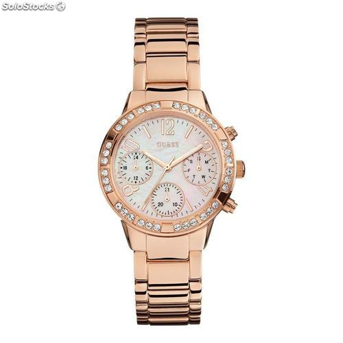 GUESS W0546L3 - Armband Uhr Rose Chronograph