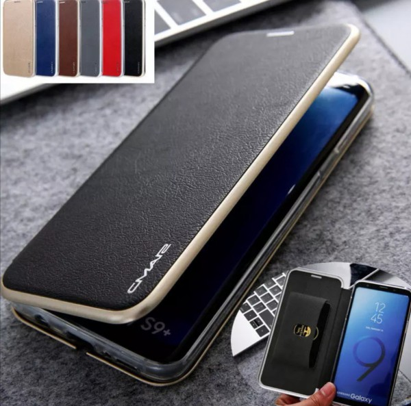 Flip Case Handyhülle Modern Schwarz Samsung
