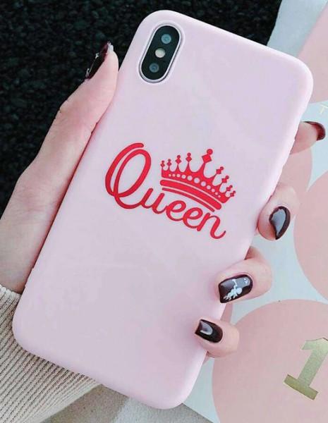 Image of Handyhülle Queen Pink für Iphone