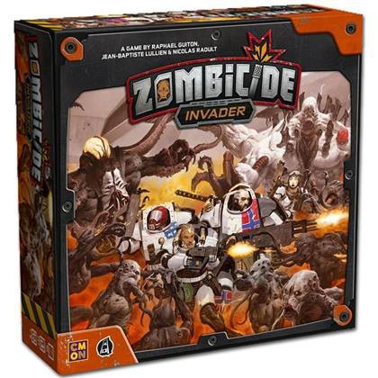 Asmodee Zombicide Invader Black Ops Addon