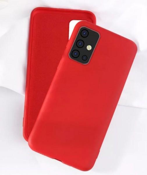 Handyhülle Silikon Rot